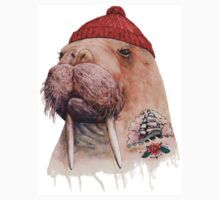 Tattooed Walrus T-Shirt