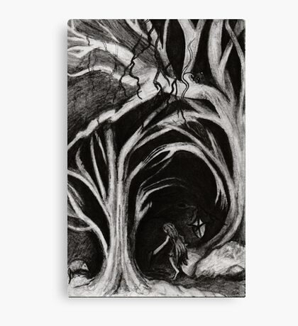 Marsupial Are You Home? Canvas Print