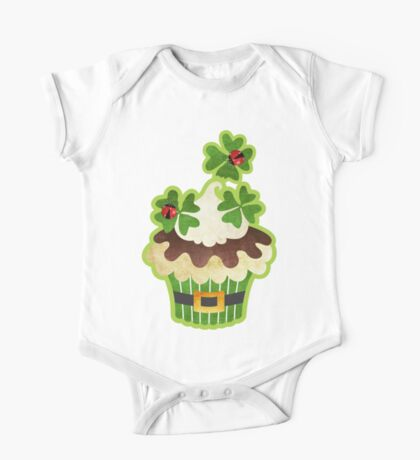 Saint Patrick's Day Cupcake One Piece - Short Sleeve