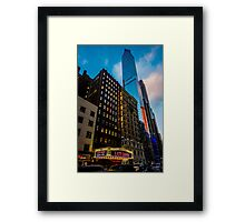 Broadway, New York City, USA. Framed Print