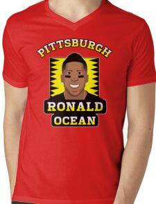 Ronald Ocean Mens V-Neck T-Shirt