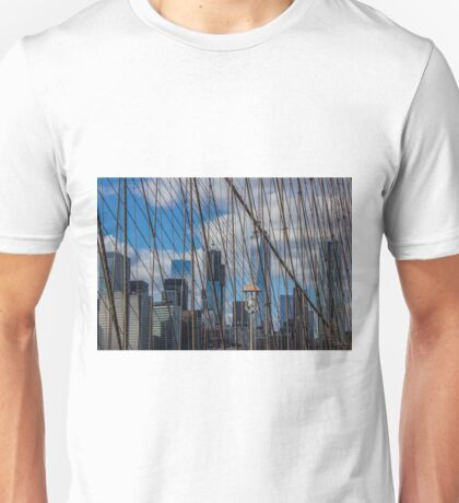 Brooklyn Bridge, New York, USA. Unisex T-Shirt