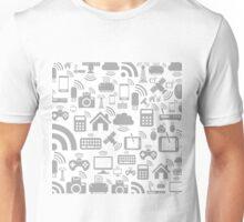Communications a background2 Unisex T-Shirt