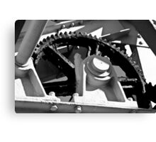 Gearbox Wheel very well greased Canvas Print