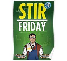 Stir Friday Poster