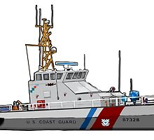 Coast Guard Cutter by BMGGMB