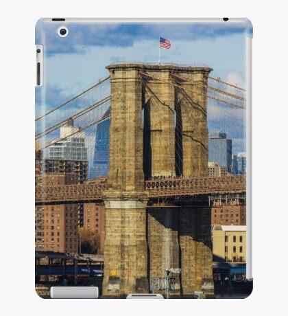 Brooklyn Bridge, New York, USA. iPad Case/Skin