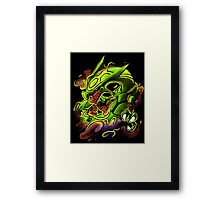 RAYQUAZA Framed Print