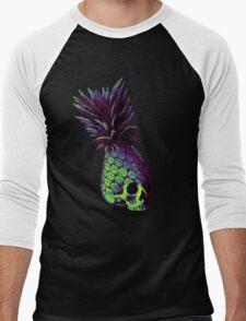 Pineapple Version 2 Men's Baseball ¾ T-Shirt
