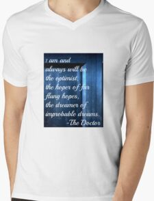Dreamer of Improbable Dreams - 11th Doctor quote T-Shirt