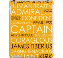 Star Trek - Kirk Text iPad Case/Skin