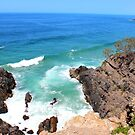 Hells Gate Noosa National Park Australia by Jeannine de Wet