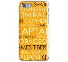 Star Trek - Kirk Text iPhone Case/Skin