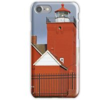 Agate Bay Lighthouse iPhone Case/Skin