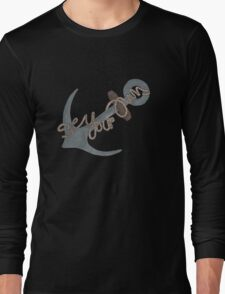 """Be Your Own Anchor"" Teen Wolf Long Sleeve T-Shirt"
