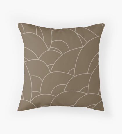scale texture v2 Throw Pillow