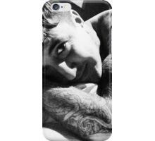 Austin in bed iPhone Case/Skin