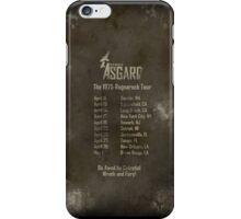 Old Gods of Asgard: Ragnarock Tour Poster iPhone Case/Skin