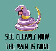 Ekans See Clearly Now, The Rain Is Gone by MelonLoaf