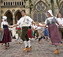 Dancing in Wooden Clogs by cclaude