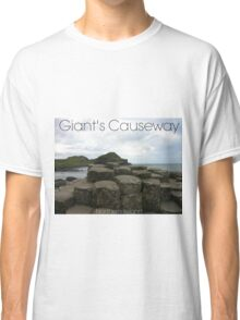 Captioned Giant's Causeway Classic T-Shirt