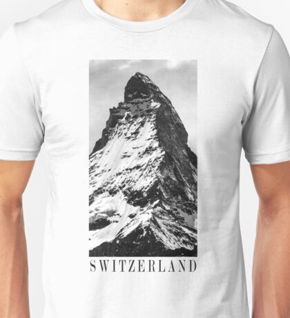 SWITZERLAND Unisex T-Shirt