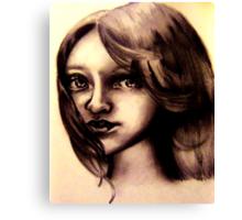 A childs Innocence Canvas Print