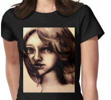 A childs Innocence Womens Fitted T-Shirt