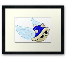 Blue Shell Framed Print