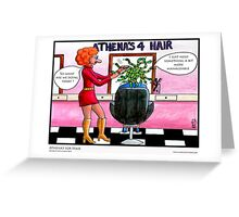 Athena's for Hair Greeting Card