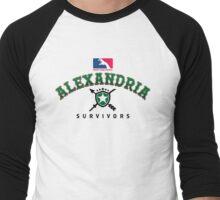 Go Survivors! Men's Baseball ¾ T-Shirt