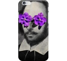 willy loves flowers iPhone Case/Skin