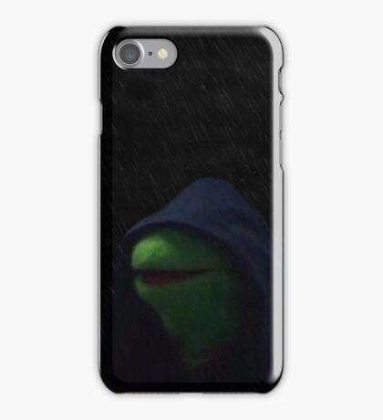 Evil Kermit the Frog Meme iPhone Case/Skin