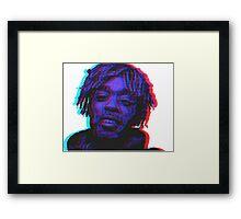 Lil Uzi Vert 3D  Framed Print