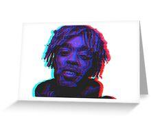 Lil Uzi Vert 3D  Greeting Card