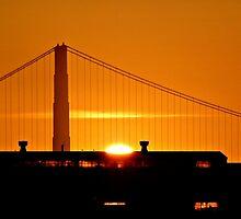 Golden Sunset by Karen Tregoning