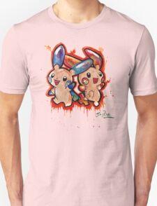Cute Plusle and Minun Tshirts + More T-Shirt