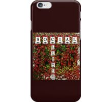 Social Climber Illustrated iPhone Case/Skin