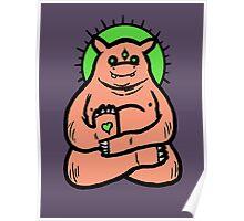 Spirit Animal #67: Hippo Poster