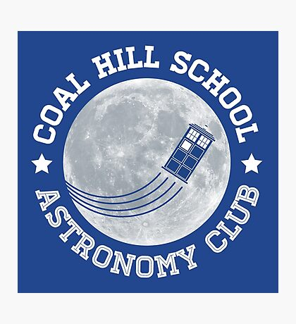 Coal Hill Astronomy Club Photographic Print