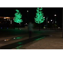 Green Glow Photographic Print
