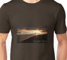 Captioned Dublin Bay Sunset Unisex T-Shirt