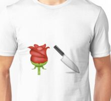 Larry Emojis - Rose and Dagger Unisex T-Shirt