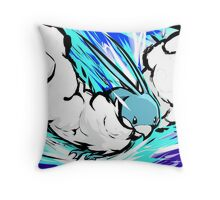 Altaria   Sky Attack Throw Pillow