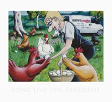 Long Live The Chickens Kids Clothes
