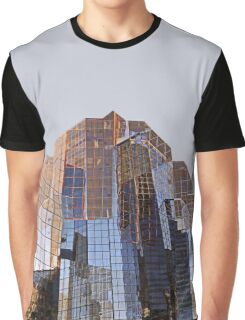 Corporate Glass Building. Graphic T-Shirt