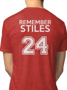 Remember Stiles - Teen Wolf Tri-blend T-Shirt
