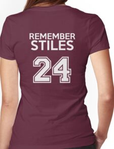 Remember Stiles - Teen Wolf Womens Fitted T-Shirt