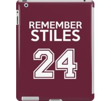 Remember Stiles - Teen Wolf iPad Case/Skin
