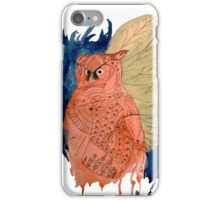 Hindi Owl iPhone Case/Skin